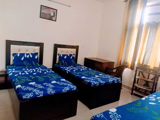 Triple AC Room - Marble Flooring (Deluxe) - Student Accommodation